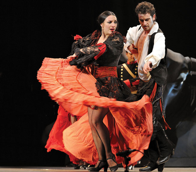 Flamenco - Madrid, Spain