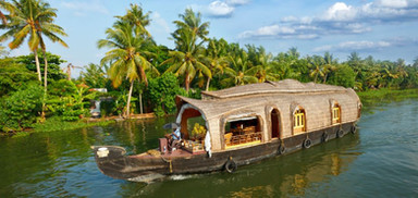 Bamboo River Cruise - Kerala, India