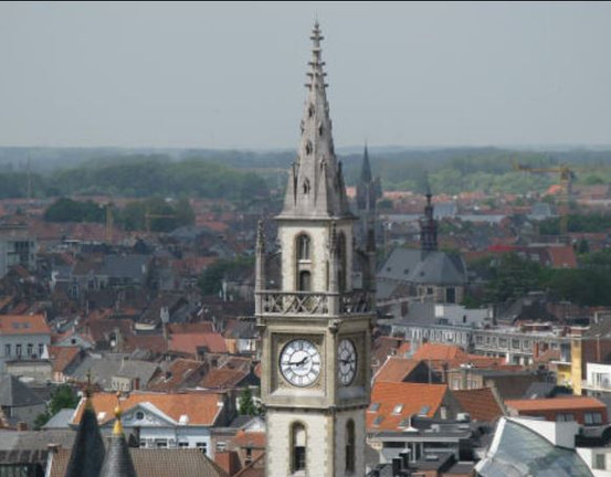 Ghent Clock Tower, Belgium