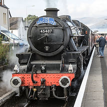 The Jacobite Train a great day out from Strontians best Self Catering business, Bluebell Croft.