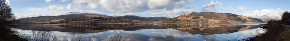 Strontian taken from across Loch Sunart