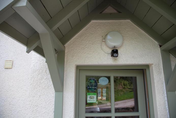 Honeysuckle House Doorway