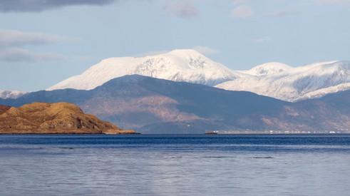 Ben Nevis across Loch Linnhe