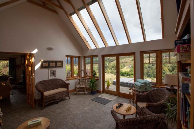 Honeysuckle House Sunroom