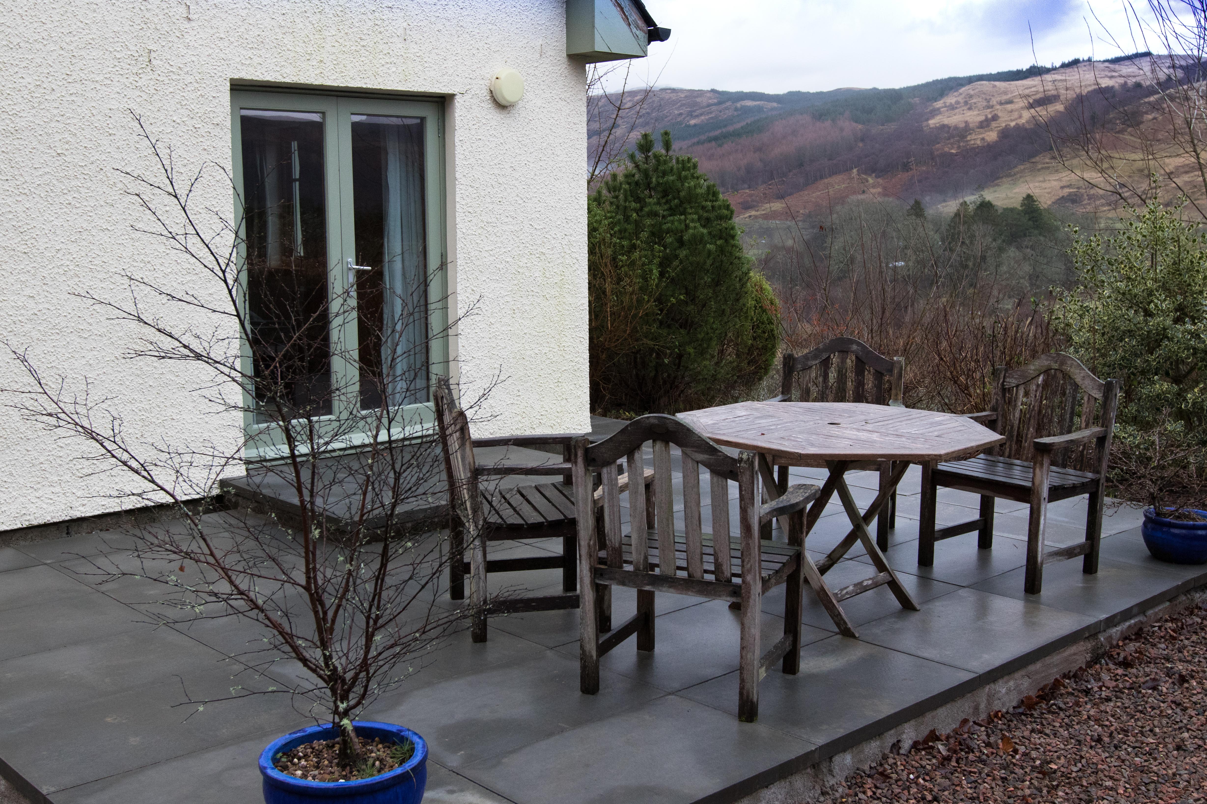 Rose Cottage patio