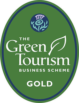 Green Tourism Gold Star Award for Bluebell Croft for excellence in Environmental Policies and Practices