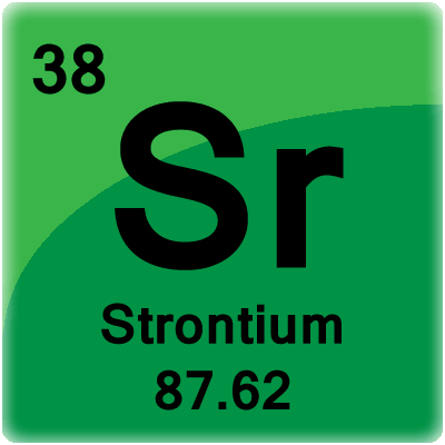 38th element in the periodic table Stontium was named after our village.