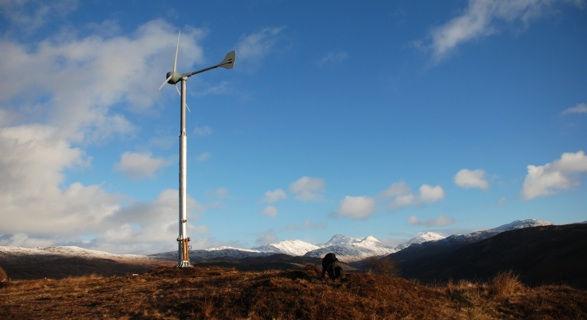 Our Evance 5kw wind turbine