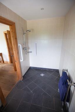 Honeysuckle House Downstairs Wetroom.