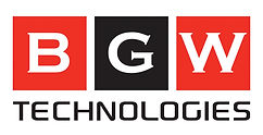 BGW Technologies Stacked Logo for White