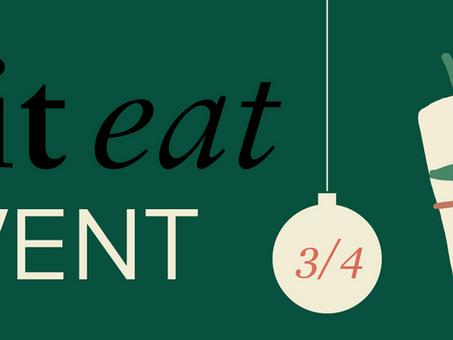 Knit Eat Avent 3/4