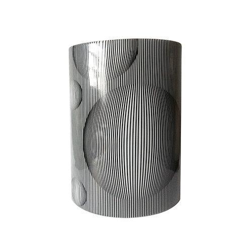 Vaso Oval Alto Bolhas