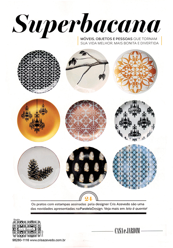 Revista Casa e Jardim agosto 2015