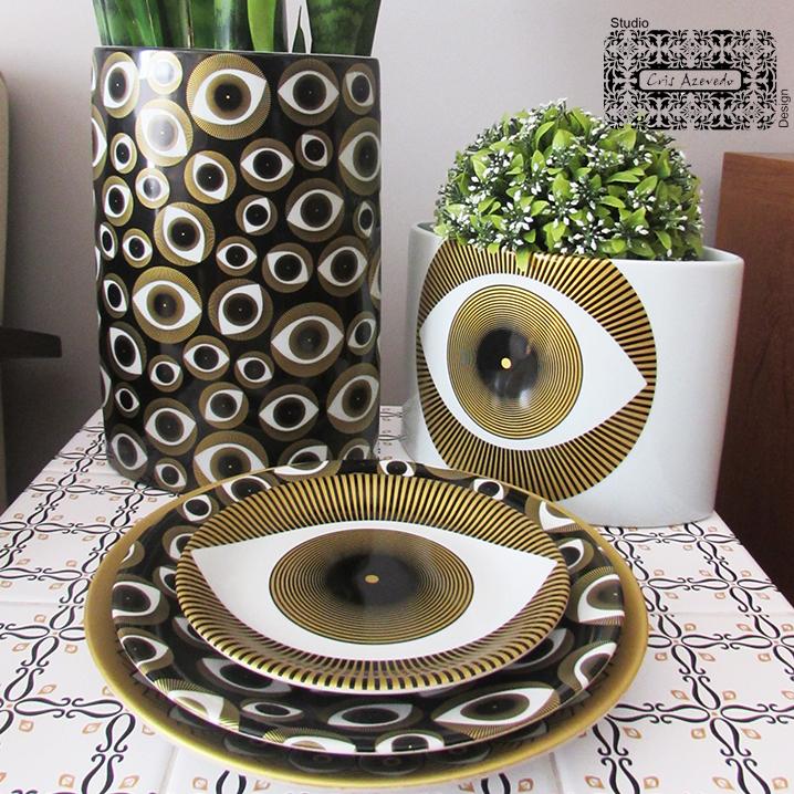 Pratos e Vasos Olhares