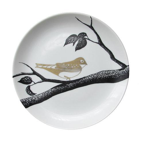Prato Decorado Pássaro B