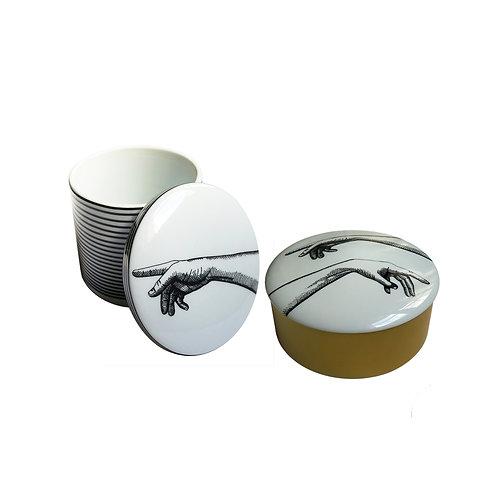 Duo Velas Aromáticas em Potes de Porcelana Heaven