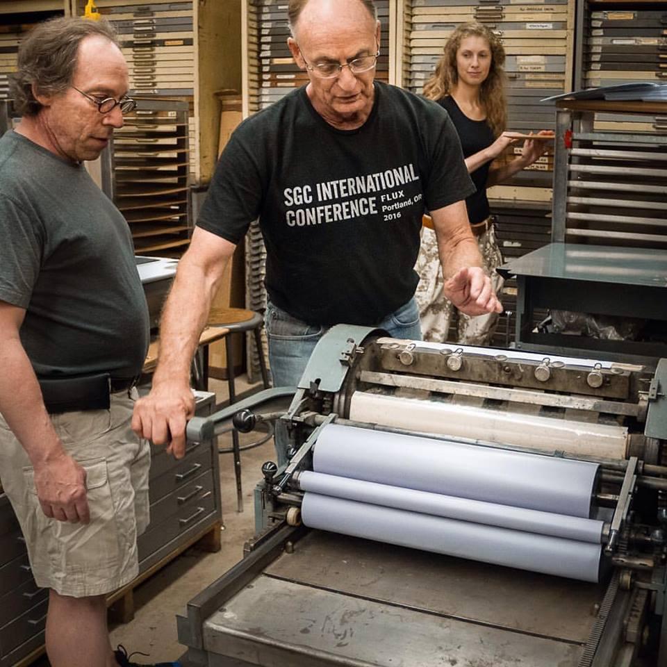 Printing with Krauss & John.