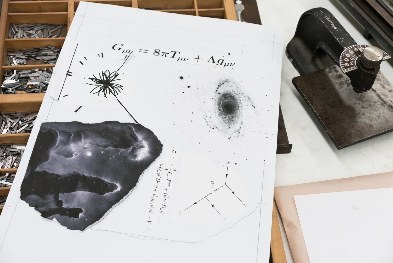 John's original print design & type.