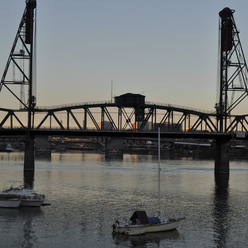 One of Portland's Many Bridges