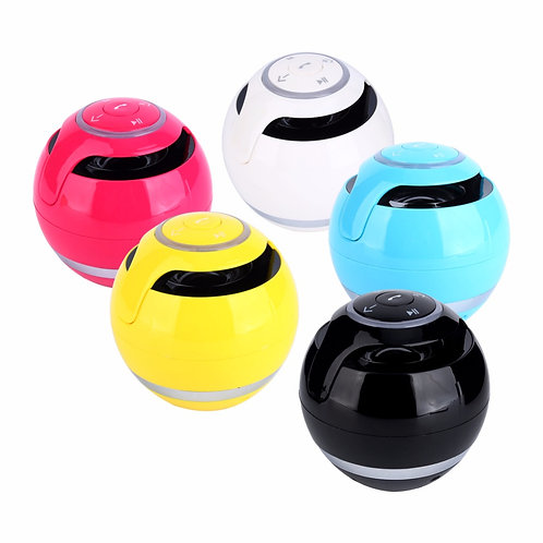 პორტატული Bluetooth მინი დინამიკი, მიმღები MP3 & FM რადიო
