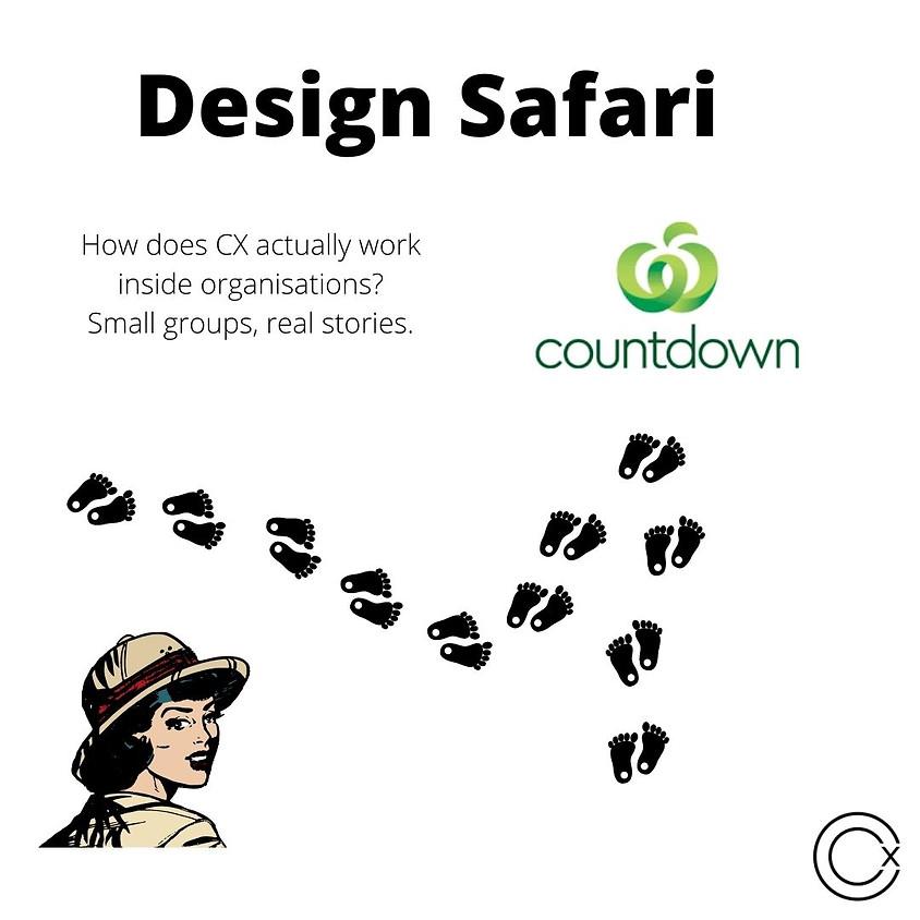 Design Safari at Countdown