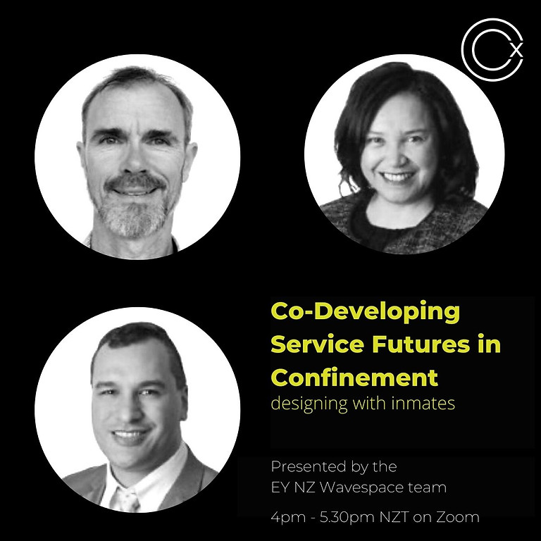 Co-developing Service Futures in Confinement - designing with inmates