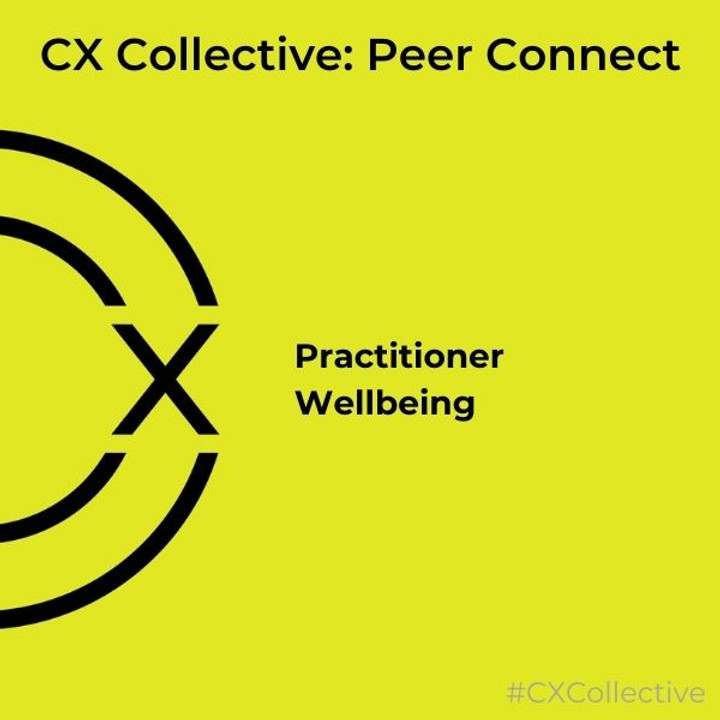 Peer Connect: Practitioner wellbeing
