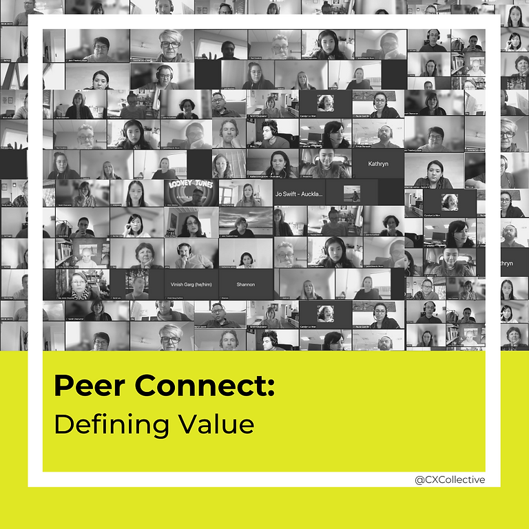 Peer Connect: Defining Value