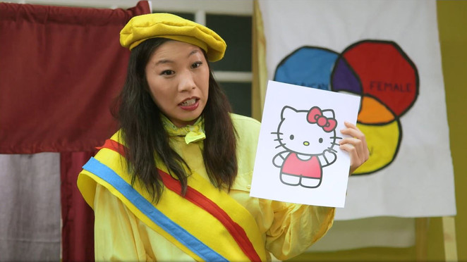 Kristina Wong's 'Radical Cram School' series educates kids on social justice, sings &#39