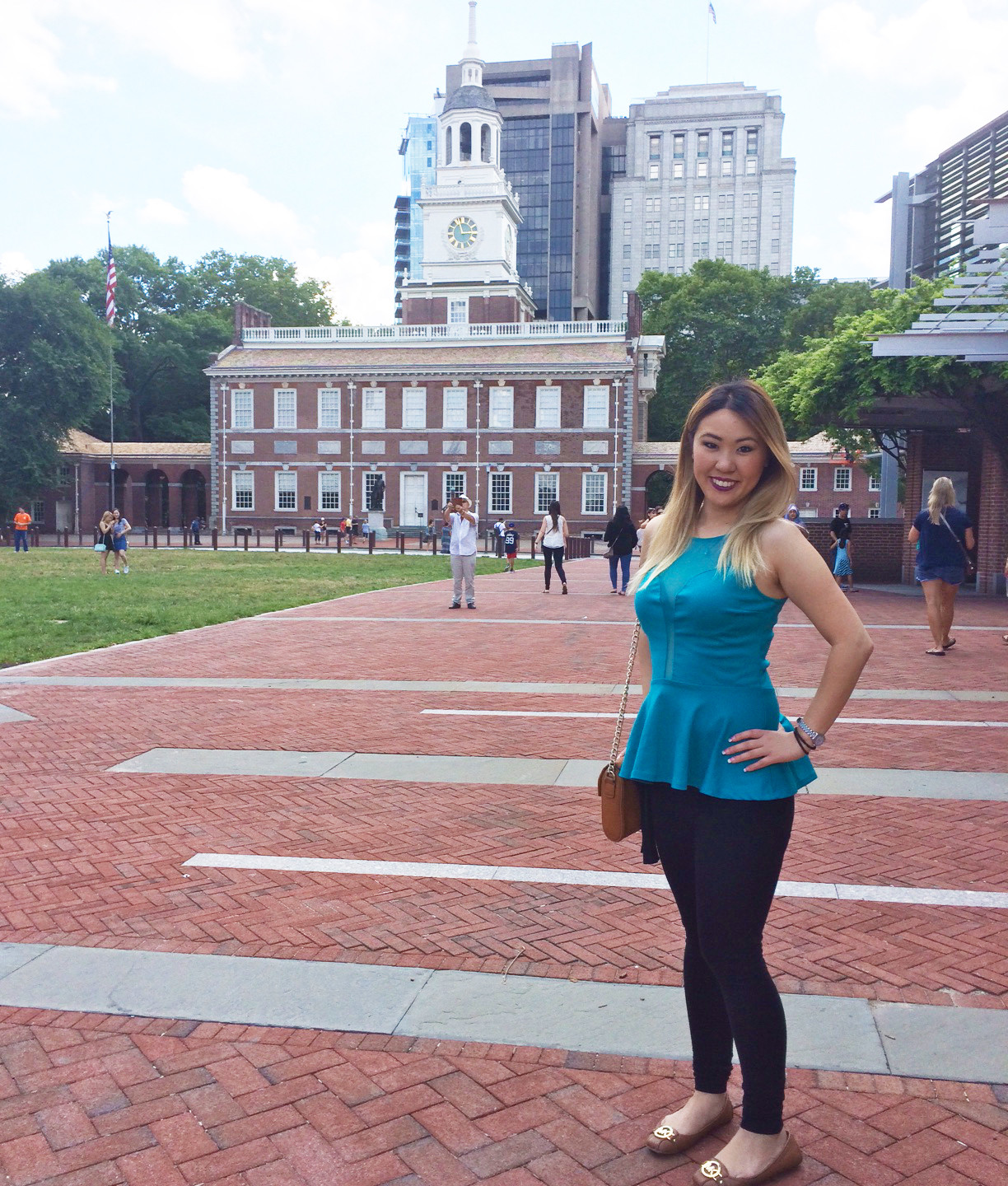me and Independence Hall_bright