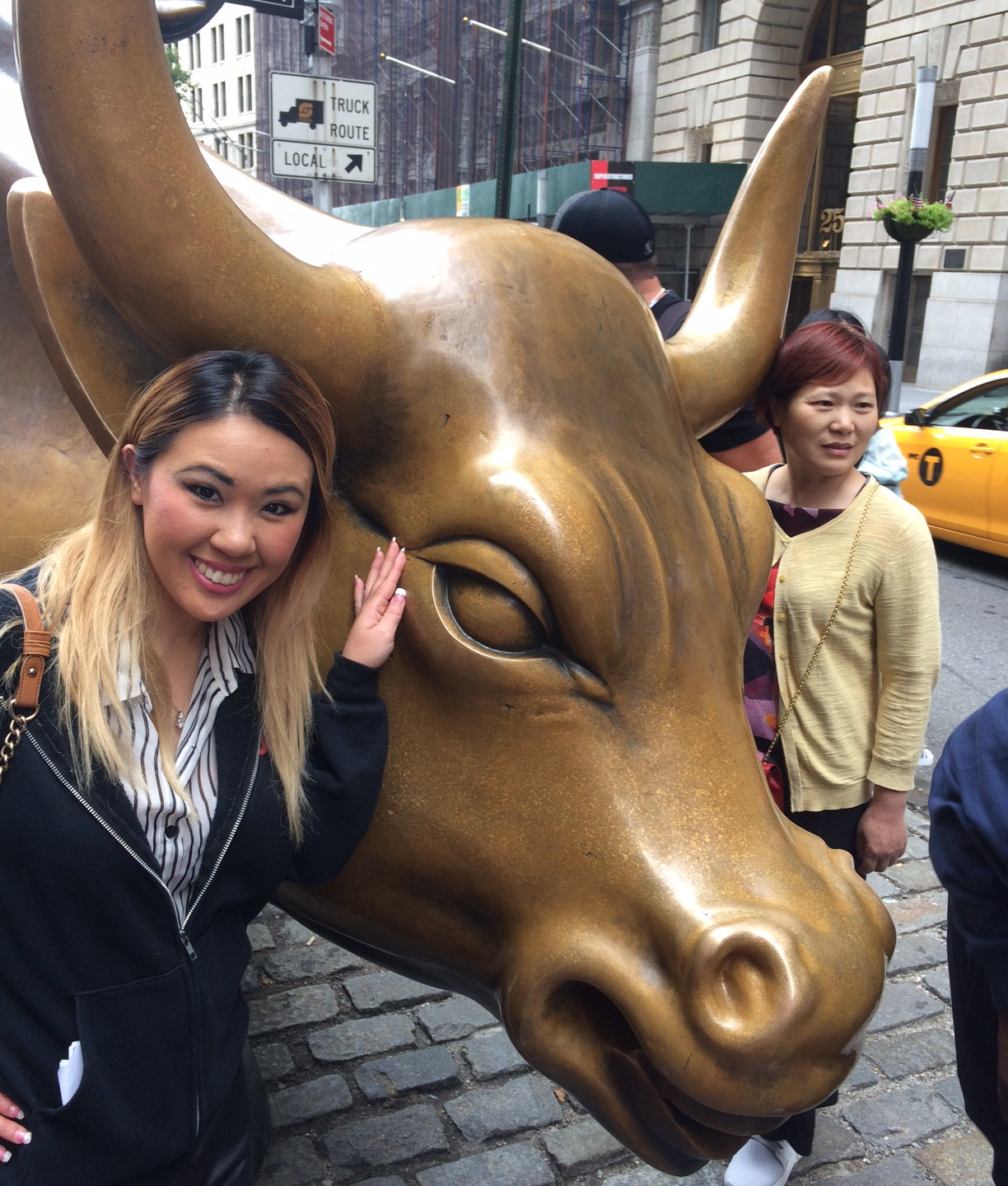 Me and The Charging Bull