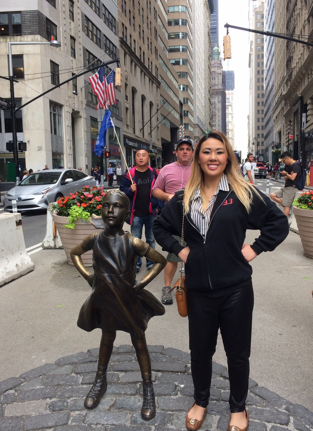 Me and Fearless Girl