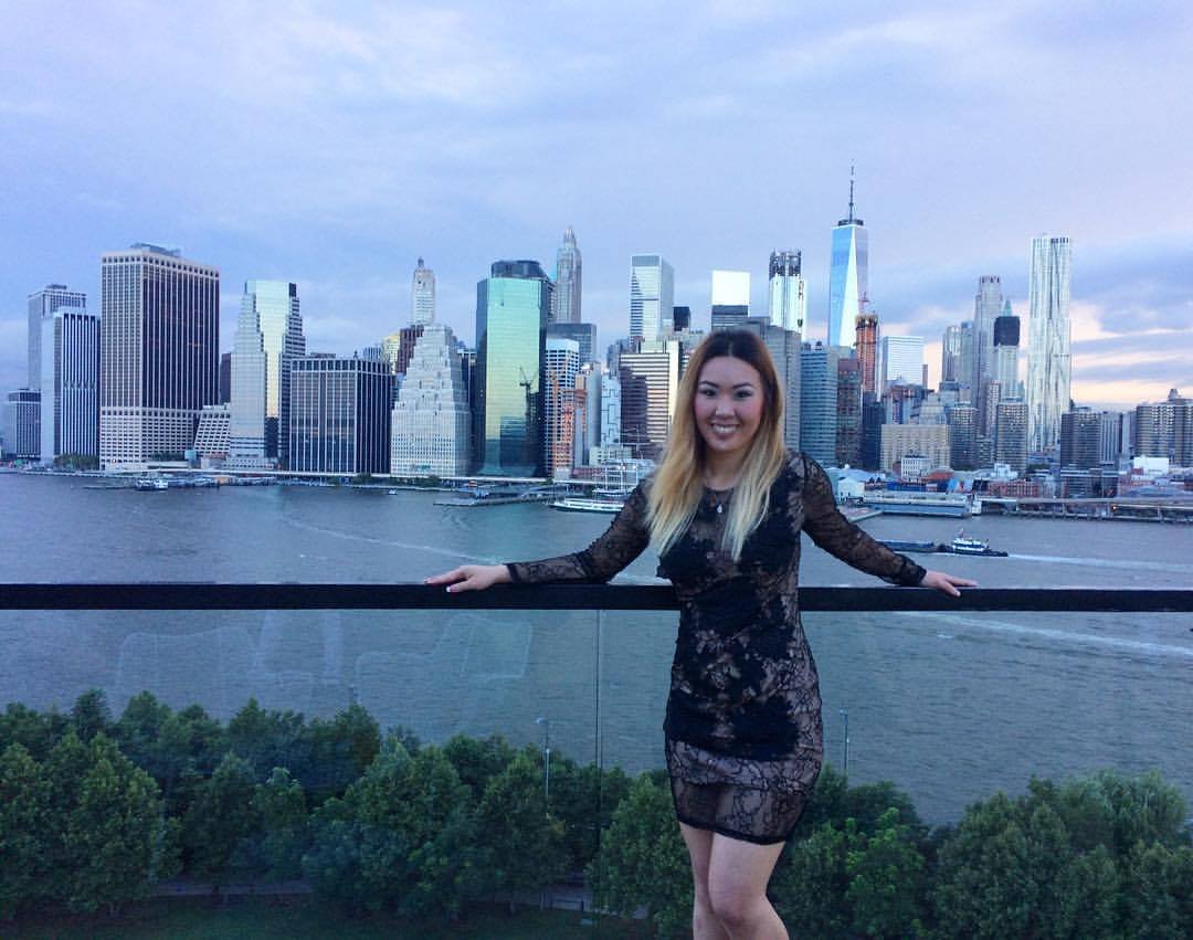 Me and the New York City Skyline