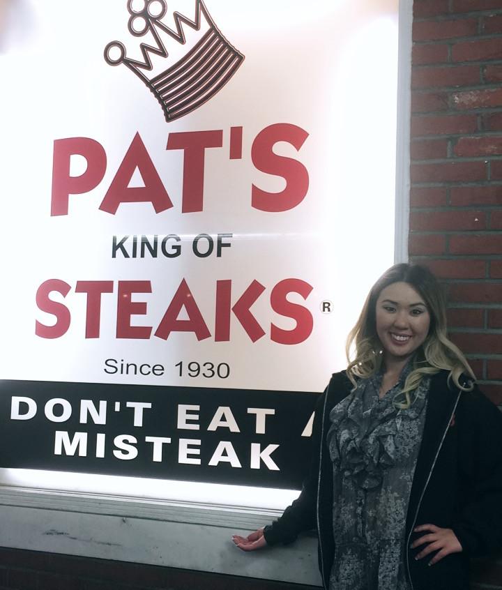 Me ant Pat's Sign
