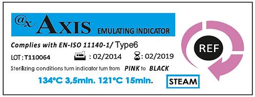 مؤشر كيميائي لاختبار جهاز التعقيم نوع 6