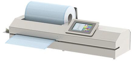 جهاز ألي لتغليف الأدوات الطبية مع نظام طباعة واضافات بشاشة ملونة