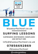Blue Surf School, Newquay, Cornwall