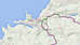 There is a national cycle route in and around Newquay, Cornwall?