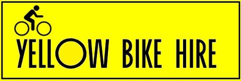 newquay cornwall bike hire, yellow bike hire