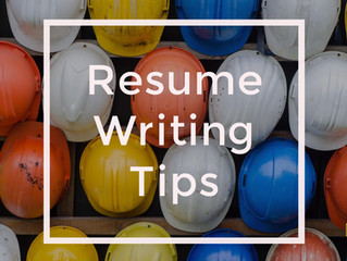 How to write the perfect resume for the Construction Industry
