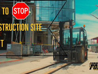 15  Ways to Prevent Construction Site Theft
