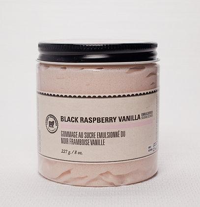 Black Rasberry Vanilla Sugar Body Scrubby Lamb's Soapworks