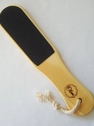 Wet Dry Wood Foot File by OBM Natural
