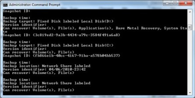 wbadmin has some good ways to check if a backup is bare metal recovery ready.