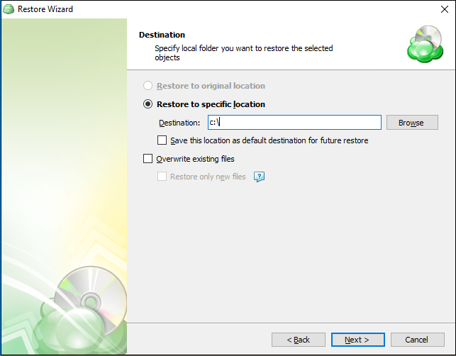 Restoring Hyper-V Guests with CloudBerry