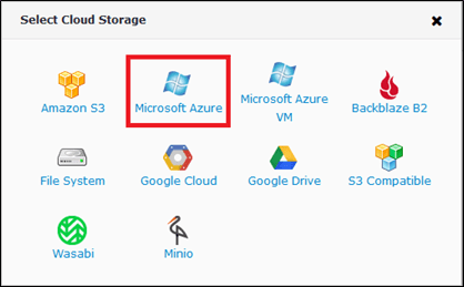 Azure Storage and CloudBerry