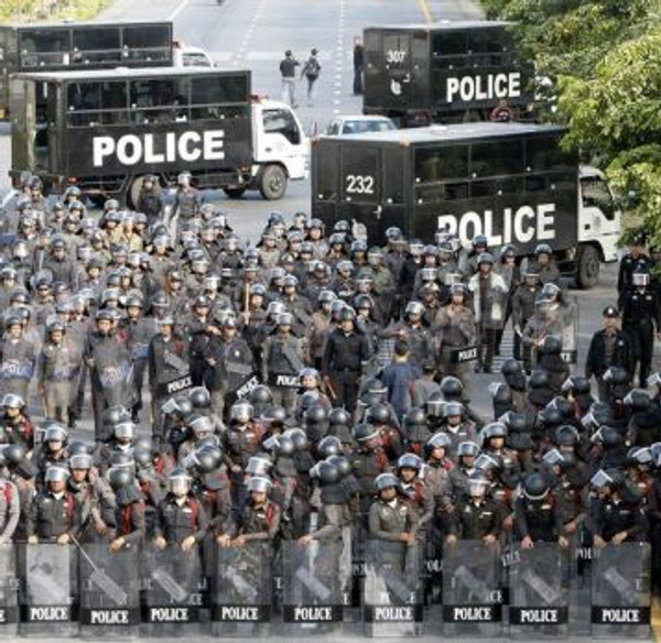 Bringing in the security software for ransomware protection is like deploying the riot squad!