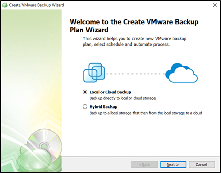 CloudBerry VMware Backup