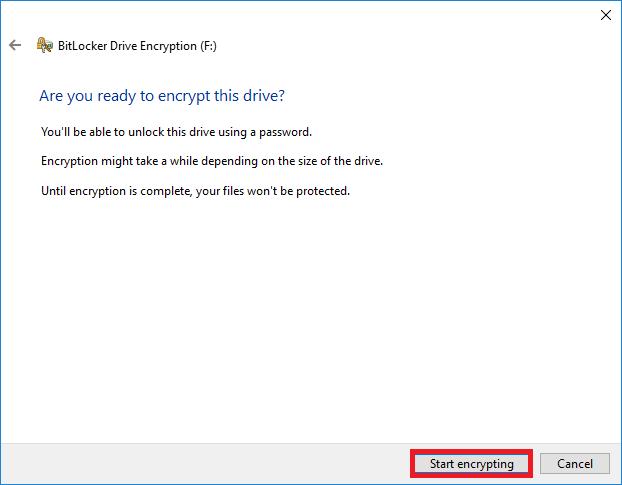 Start encrypting