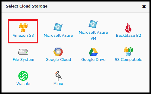 Using AWS Storage with CloudBerry